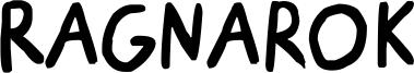 Ragnarok Font