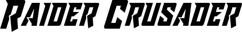 raidercrusader.ttf