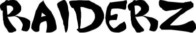 Raiderz Font