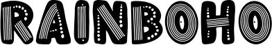 Rainboho Font