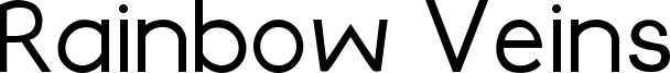 Rainbow Veins Font