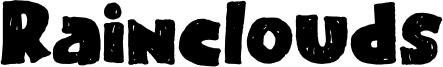Rainclouds Font