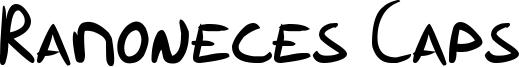 Ramoneces Caps Font