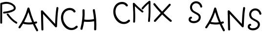 Ranch CMX Sans Font