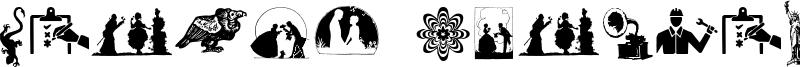 Random Dingbats Font