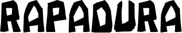 Rapadura Font