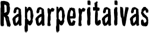 Raparperitaivas Font