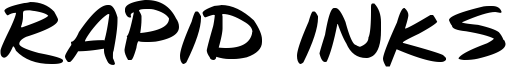 Rapid Inks Font