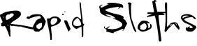 Rapid Sloths Font
