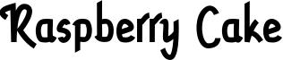 Raspberry Cake Font