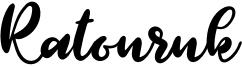 Ratouruk Font