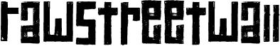 RawStreetWall Font