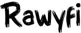 Rawyfi Font