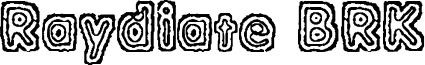 Raydiate BRK Font