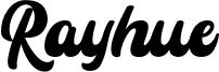 Rayhue Font