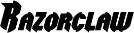 Razorclaw Bold Italic.otf