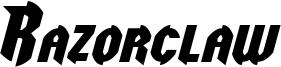 Razorclaw Italic.otf
