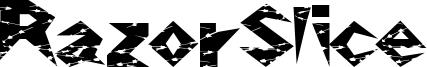 RazorSlice Font