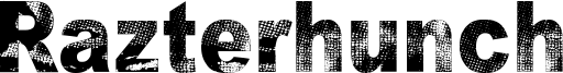 Razterhunch Font