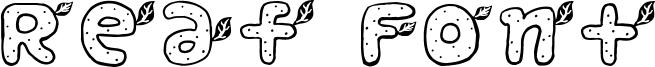 Reaf Font Font