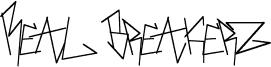 Real Breakerz Font