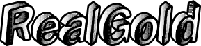 RealGold Font