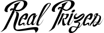 Real Prizes Font