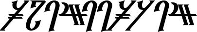 Reanaarian Bold Italic.otf
