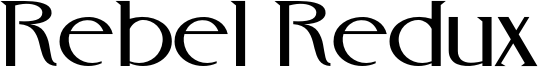 Rebel Redux Font