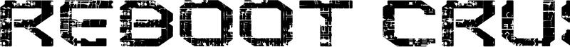 Reboot Crush Font