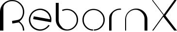 RebornX Font