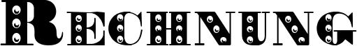 Rechnung Font