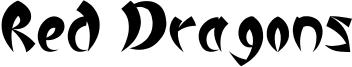 Red Dragons.otf