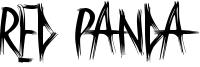 Red Panda Font