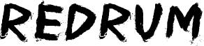 Redrum Font