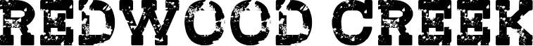 Redwood Creek Font