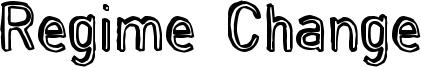 Regime Change Font