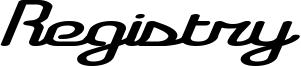 Registry Font