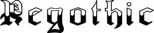 Regothic Font