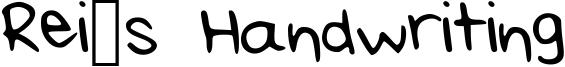 Rei's Handwriting Medium.ttf