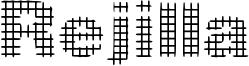 Rejilla Font