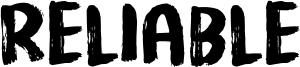 Reliable Font