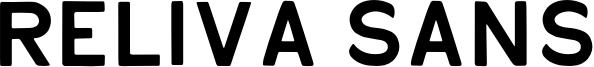 Reliva Sans Font