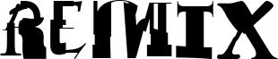 Remix Font
