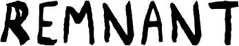 Remnant Font