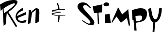 Ren & Stimpy Font