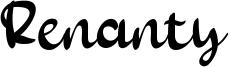 Renanty Font