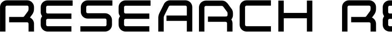 Research Remix Font