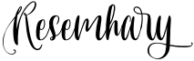 Resemhary Font