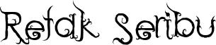 Retak Seribu Font